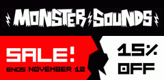 Monster Sounds Sale