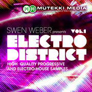 Mutekki Media Swen Weber presents Electro District Vol. 1