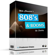 Producers Choice 808's Kicks & Booms
