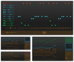 Sinevibes sequencer-driven plugins