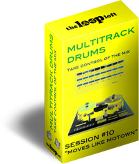 The Loop Loft Multitrack Drums Moves Like Motown