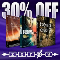 Zero-G sample libraries 30% off at Time+Space