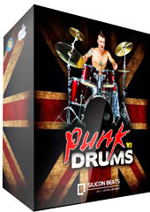 Silicon Beats Punk Drums V1