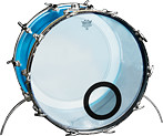 Ludwig Vistalite Bass Drum Kitpiece Pak