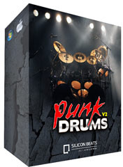 Silicon Beats Punk Drums V2
