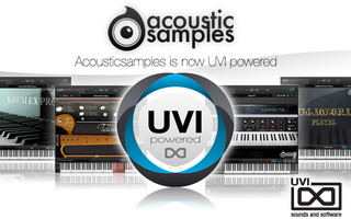 Acousticsamples powered by UVI Workstation 2
