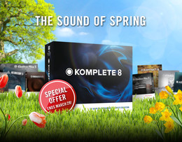 Native Instruments KOMPLETE 8 Spring Special
