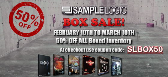 Sample Logic Box Sale