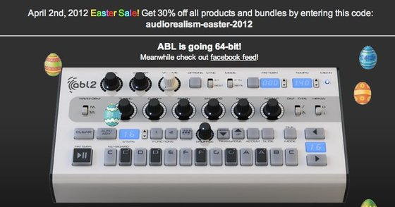 AudioRealism Easter Sale