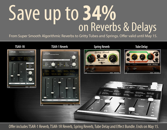 Softube Reverb and Delay Sale