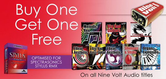 Nine Volt Audio Buy 1 Get 1 Free