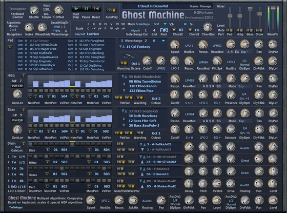 H.G. Fortune Ghost Machine Pro