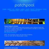Patchpool Alchemy soundsets