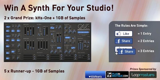 Plugin Boutique kHs One giveaway