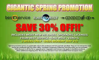 Sounds Online Spring Promotion