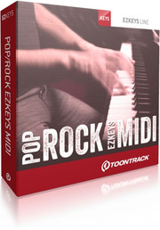 Toontrack Pop Rock EZkeys MIDI