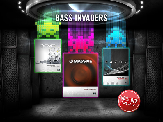Native Instruments Bass Invaders