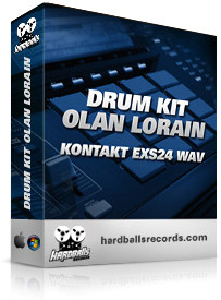 Hardballs Drum Kit Olan Lorain