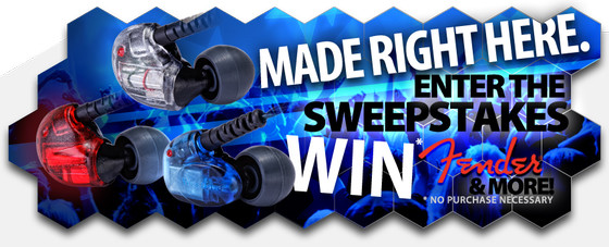 Westone Made Right Here Sweepstakes