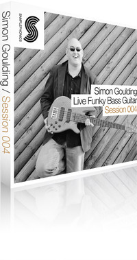 Samplephonics Simon Goulding Live Funky Bass Guitar