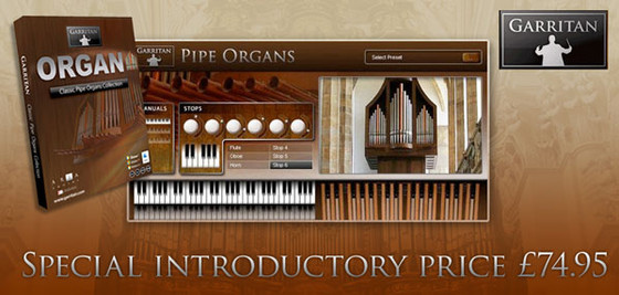 Garritan Classic Pipe Organ Collection