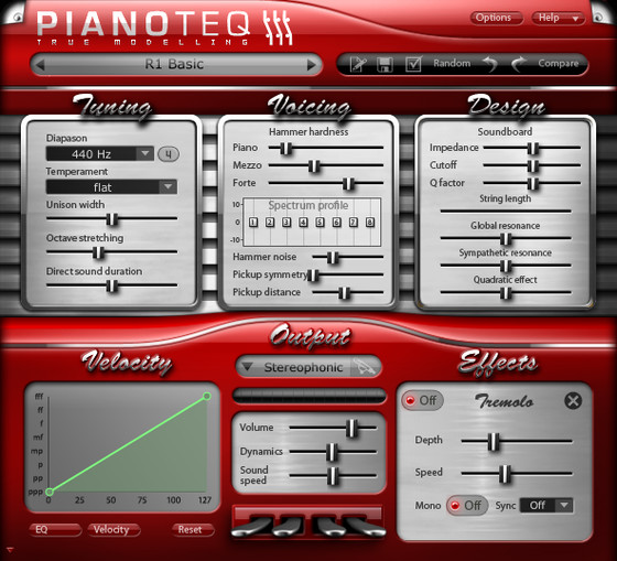 Rhody add-on for Pianoteq