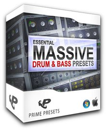 Prime Loops Essential Drum and Bass Presets for Massive