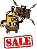 Rhythmic Robot Summer Sound Sale