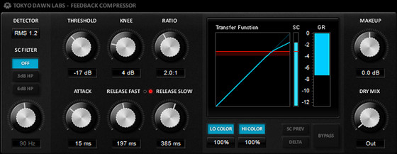 TDR Feedback Compressor