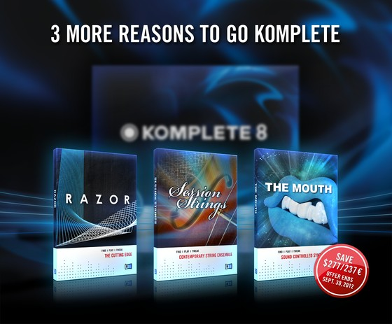 3 More Reasons to go KOMPLETE