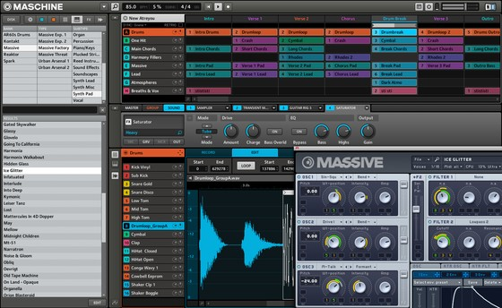 Native Instruments MASCHINE screenshot
