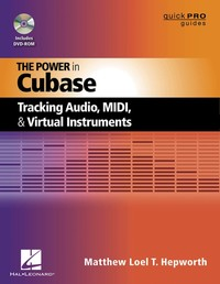 Hal Leonard Book The Power in Cubase