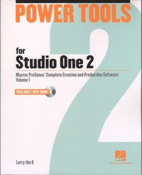 Hal Leonard Power Tools for Studio One 2