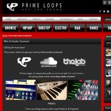 Prime Loops Recording Studio Contest