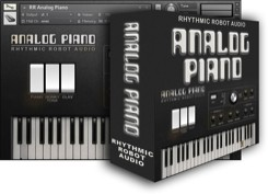 Rhythmic Robot Analog Piano