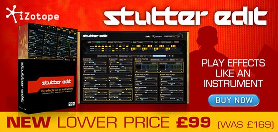 iZotope Stutter Edit promotion at Time+Space