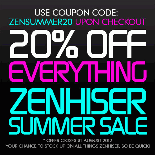 Zenhiser August Summer Sale