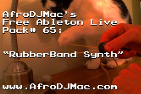 AfroDJMac RubberBand Synth