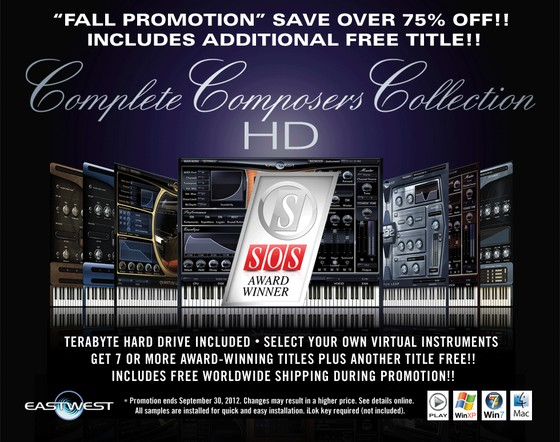 EastWest Complete Composers Collection HD+ Sale