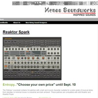 Xenos Soundworks Entropy for Spark