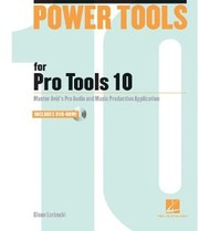 Hal Leonard Power Tools for Pro Tools 10