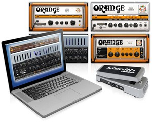 IK Multimedia Orange & Carvin models in AmpliTube Custom Shop