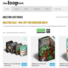 The Loop Loft Ableton Packs Sale