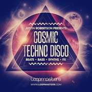 Loopmasters Justin Robertson Cosmic Techno Disco