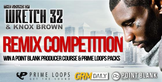 Prime Loops Wretch 32 Remix Contest