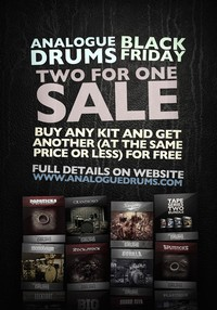 Analogue Drums Black Friday Sale