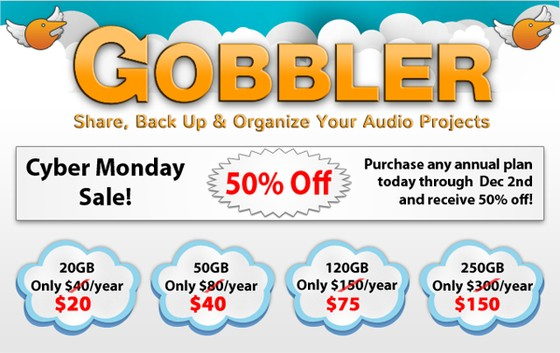Gobbler Cyber Monday Sale