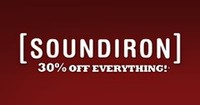 Soundiron 30% off