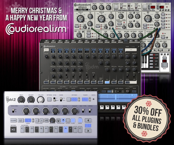 AudioRealism Winter sale