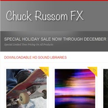 Chuck Russom FX Holiday Sale